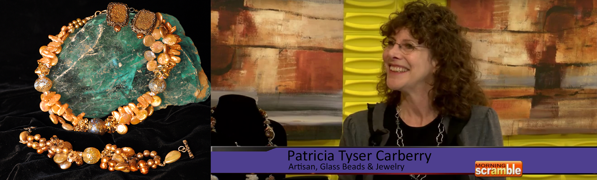TV Interview with Patricia